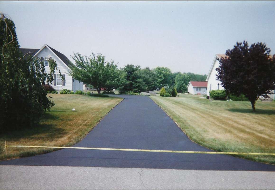 Residential Driveway After